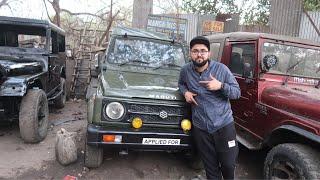 My New Car is Maruti Gypsy | Mayapuri Gypsy Market | Gypsy Or Thar | Custom Made Gypsy