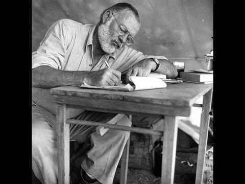 Ernest Hemingway Recording