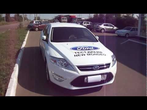 Ford Mondeo 2011, тест-драйв