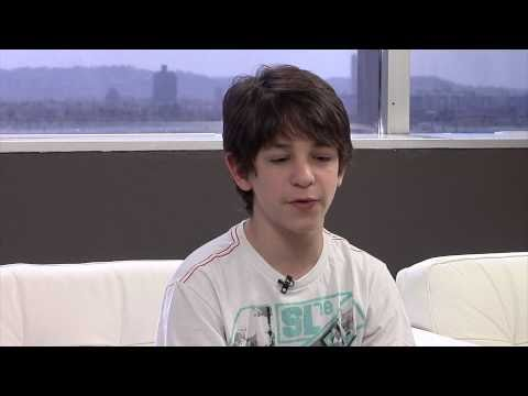 Zachary Gordon Diary of a Wimpy Kid: Rodrick Rules Interview