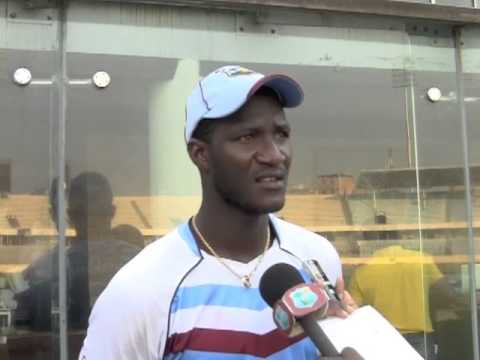 Darren Sammy Interview ahead of 1st 2012 Bangladesh Test