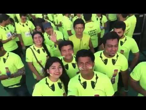 Mirchi Neon Run Mumbai 2016 - NEON PARTY - at BKC GROUND MUMBAI