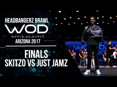 Skitzo vs Just Jamz | Headbangerz Brawl Finals | World of Dance Arizona 2017 | #WODAZ17