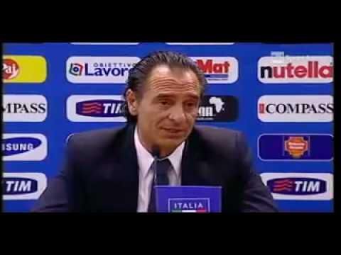 Conferenza stampa di presentazione Cesare Prandelli (1ª parte)