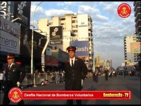 Desfile nacional de bomberos Voluntarios - Argentina
