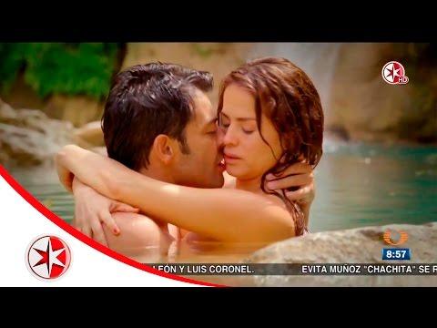 Danna García y Andrés Palacios se entregan a sus personajes