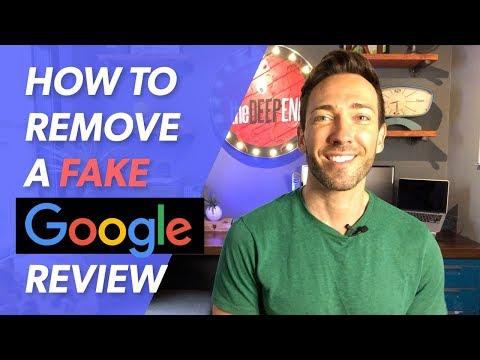 Remove a Fake Google Review