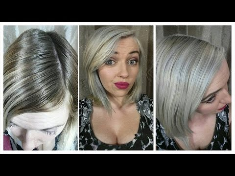 How i got platinum silver hair   Bleach bath   green/orange colour correction   IdleGirl