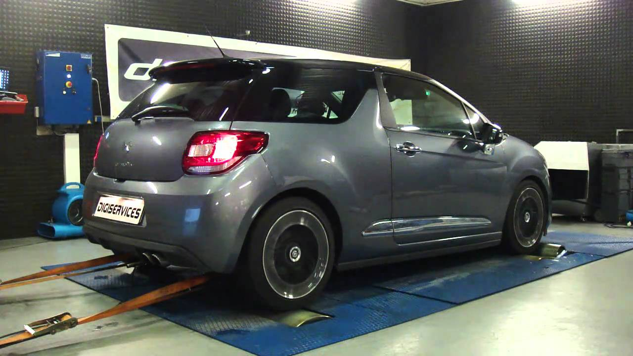 reprogrammation moteur citroen ds3 thp 156cv 189cv dyno digiservices youtube. Black Bedroom Furniture Sets. Home Design Ideas