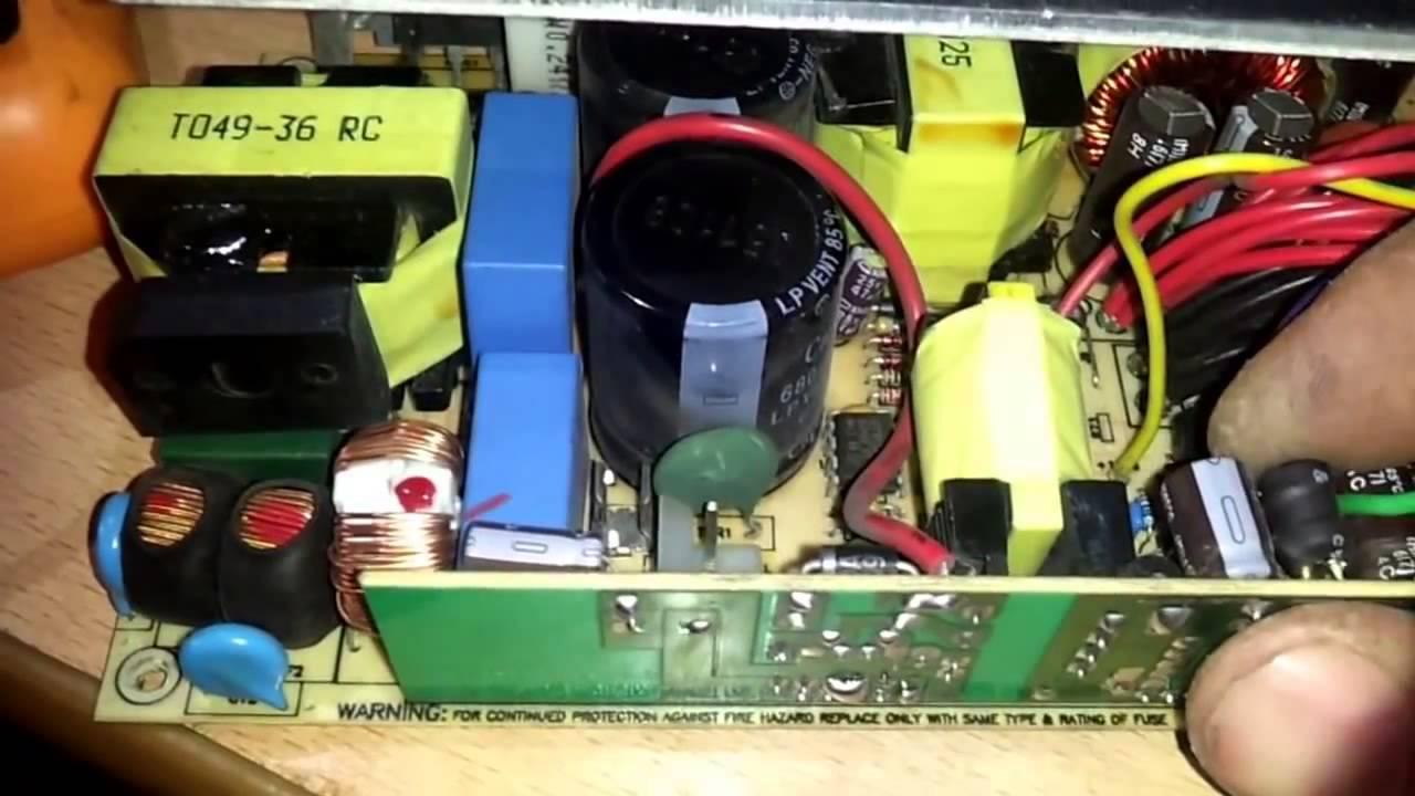 Ремонт блок питание компьютера
