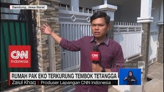 Polemik Rumah Pak Eko Terkurung Tembok Tetangga