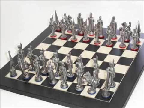 Making Antique Finish Pewter Chess Sets Youtube