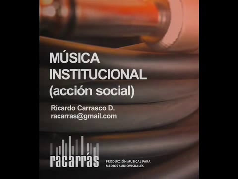 Música para video institucional - acción social