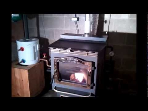 Convert your pellet stove or corn stove into a boiler Part 2..