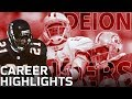 Deion Sanders Primetime Career Highlights Nfl Legends