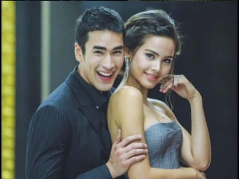 Yaya and Nadech incredibly beautiful couple when filming Leh Lub Salub Rang lakorn