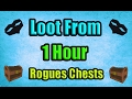 Loot From 1 Hour of Rogues' Chests Insane Profit! (+420 Chests) OSRS