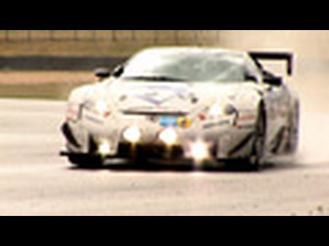 Lexus LFA supercar driven by autocar.co.uk