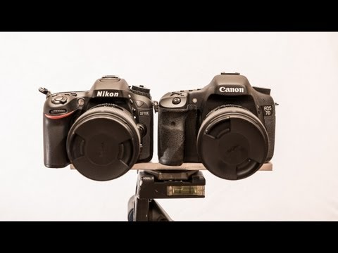 Nikon D7100 vs Canon 7D Part 1 - Photography Features - Best APS-C DSLR?