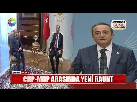 CHP-MHP arasında yeni raunt