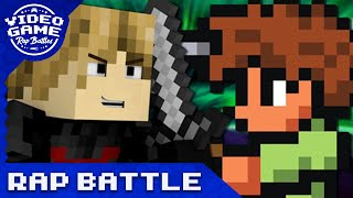 Minecraft vs. Terraria - Video Game Rap Battle (VGRB + JT Machinima)