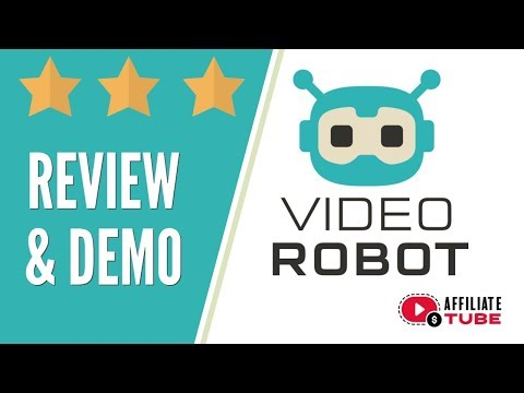 VideoRobot Review   Video Robot Demo and Reviews