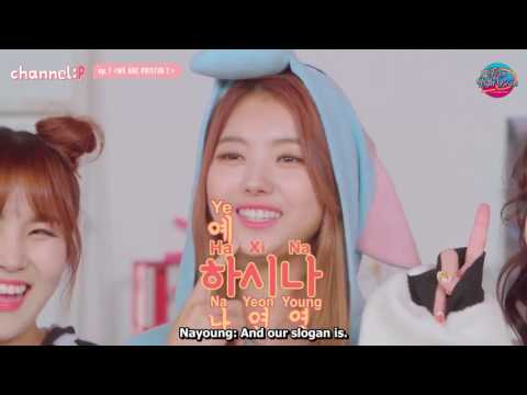 [ENG] Channel :P Ep.1 - We Are PRISTIN!