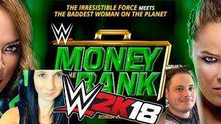 WWE2K18 Nia Jax vs Ronda Rousey | MITB vs SUPERZOMGBBQ