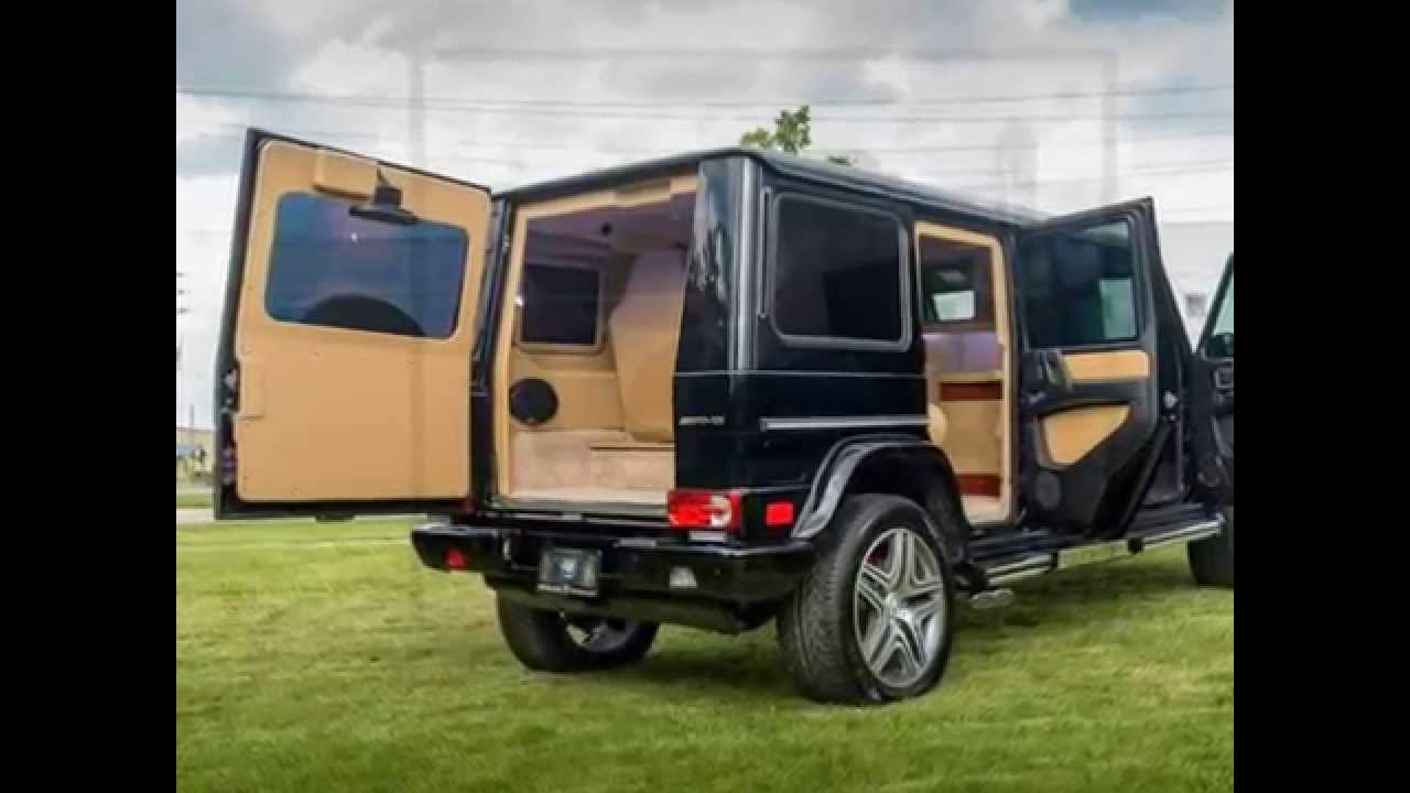 Inkas Mercedes Benz G63 Amg Armored Limo Youtube