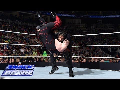 Roman Reigns vs. Kane: SmackDown, June 27, 2014 thumbnail