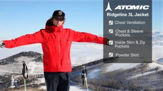 Atomic Ridgeline 3L Jacket Review