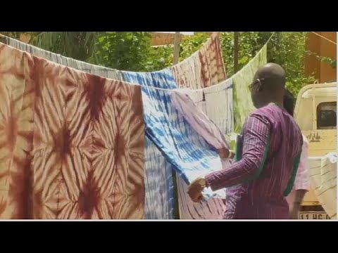 Burkinabe fashion designer revives traditional Koko Dunda fabric