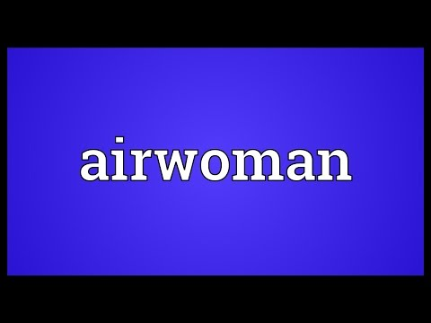 Header of airwoman