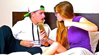 CAUGHT HIM CHEATING PRANK ON BOYFRIEND! **PRANK WARS GONE WRONG**