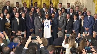 Obama Honors the Golden State Warriors, 2015 NBA Champions