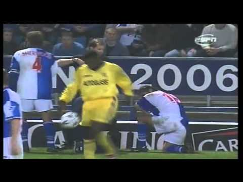 Blackburn 3-4 Chelsea 1998-99 (Roy Hodgson loses it)