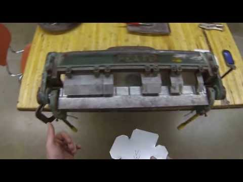 Sheet Metal Box- Bending the box