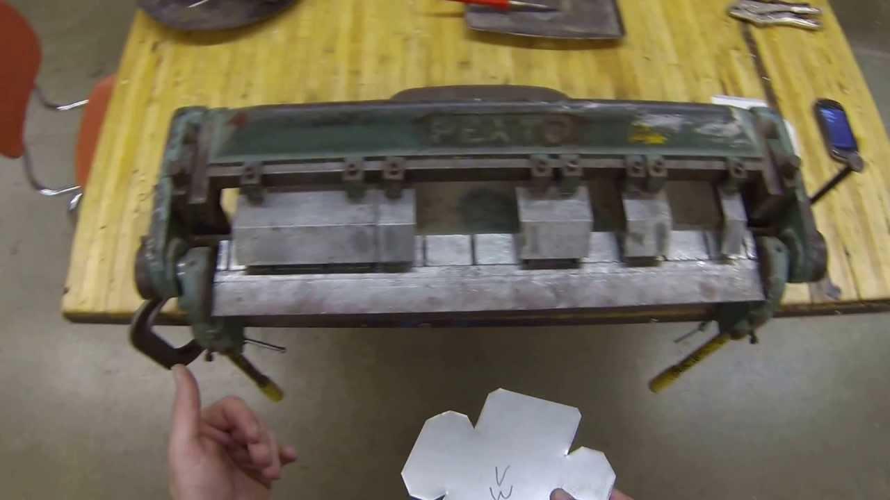 Sheet Metal Box Bending The Box Youtube