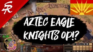 Are Aztec Eagle Runner Knights OP!? Age of Empires III