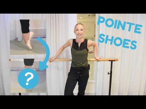 BEFORE & AFTER | BREAKING IN POINTE SHOES