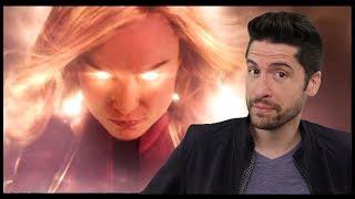 Captain Marvel - Trailer Review