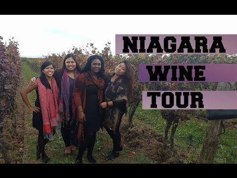 Niagara Wine Tour - Travel Vlog - Jessie and Luke - Oct 29, 2016