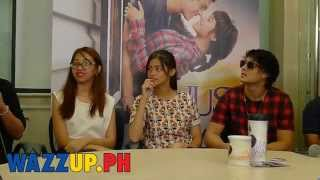 Part 7 Just the way you are blogcon with Liza Soberano and Enrique Gil
