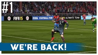 """FIFA 15 - Road to a Better Bollocks FC - Ep.1 """"WE'RE BACK!"""""""