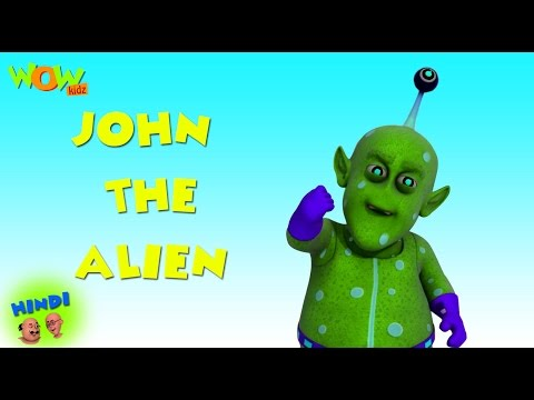John The Alien - Motu Patlu in Hindi WITH ENGLISH, SPANISH & FRENCH SUBTITLES thumbnail