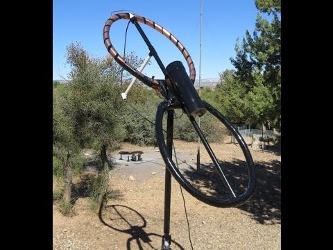 Magnetic loop antenna helical loop antenna 2 element