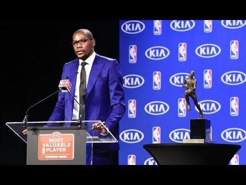 Thunder Star Kevin Durant Wins First MVP Award