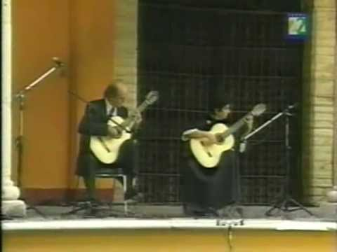 J.Ph.Rameau: Les Cyclopes - Evangelos&Liza guitar duo