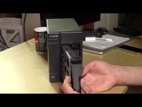 Asustor AS-202TE Network Attached Storage (NAS) Review - Plex. XBMC. Blu Ray MKV