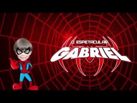 Retrospectiva - O Espetacular Homem Aranha | Gabriel - 5 anos